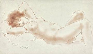 Nackte Frau, Armand Rassenfosse, 1932 von Atelier Liesjes
