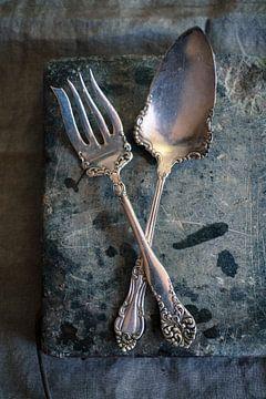 SF12483549 Zilveren vork en lepel van BeeldigBeeld Food & Lifestyle