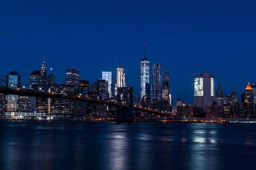 New York City Skyline van