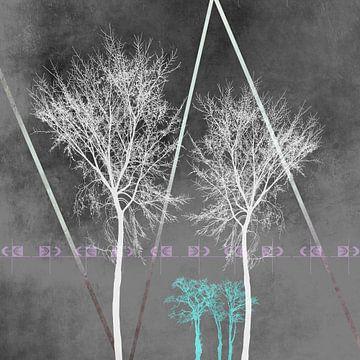 Trees I van Pia Schneider