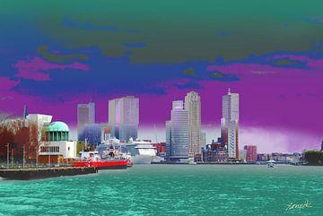 Kop van Zuid, Rotterdam van Yannik Art