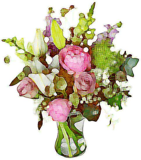 Bloemen aquarel
