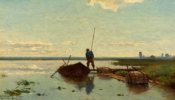 Polderlandschaft, Paul Joseph Constantin Gabriel