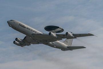 Boeing E-3 Sentry, een militair Airborne Warning And Control systeem, ook wel AWACS-vliegtuig genoem van Jaap van den Berg