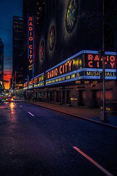Radio City Music Hall van