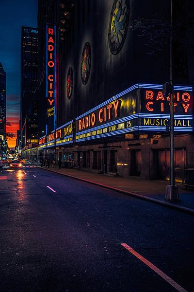 Radio City Music Hall van Joris Pannemans - Loris Photography