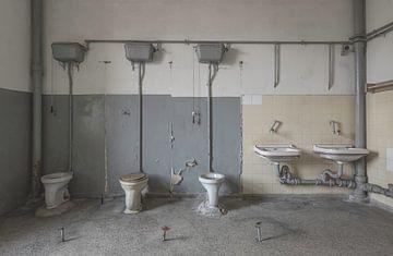 Toilettengebäude DDR-Gebäude von John Noppen