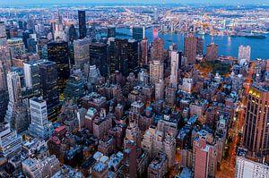 Blick auf Midtown Manhattan van