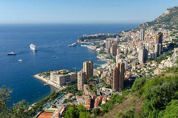 Uitzicht op Monaco van Mark Bolijn