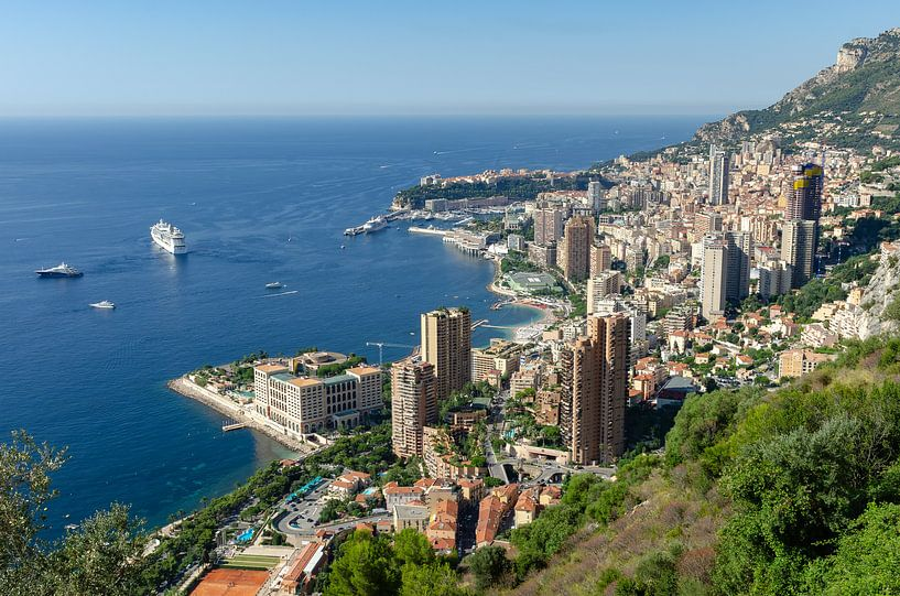 Blick auf Monaco von Mark Bolijn