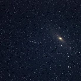 Andromeda-Galaxy von W.Schriebl PixelArts