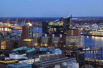 Hamburg von oben von
