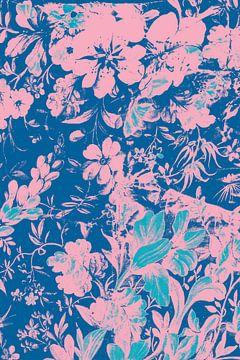 Blumenmuster von Teis Albers