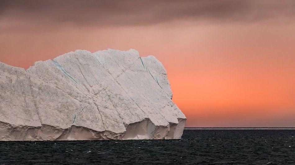 IJsberg in de Ross Sea Antarctica van Eefke Smets