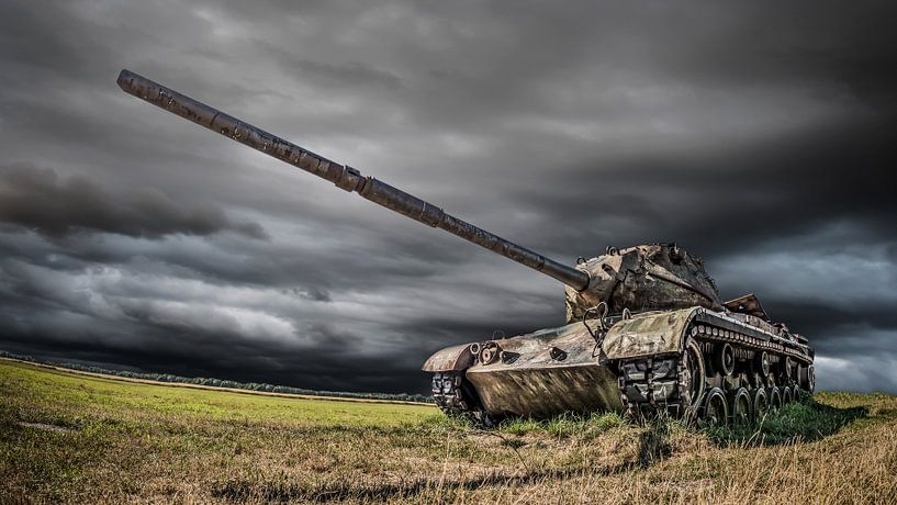 Oude M47 Tank van Günter Albers