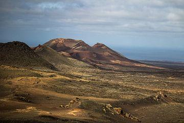 Timanfaya Nationaal Park Lanzarote van Daan Duvillier