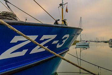 Le port de Zierikzee sur Freddie de Roeck