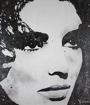 """Elizabeth Taylor """"Diamanten"""" von Kathleen Artist Fine Art"""