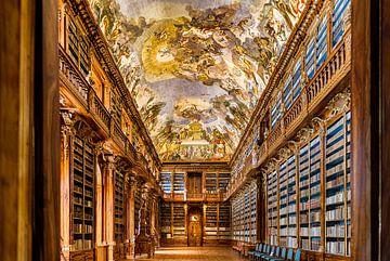 Prachtige bibliotheek in Praag von Roy Poots