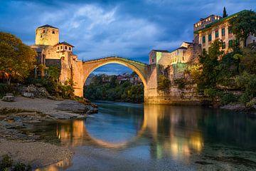Stari Most in Mostar von Michael Abid