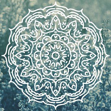 Mandala Lavendel van Mandy Jonen