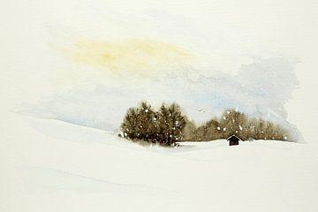 Wintersonne im Skigebiet von Natalie Bruns