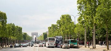 Parijs Champs Elysées van Jan Sportel Photography