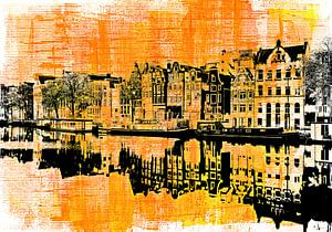 Amsterdam - yellow and black