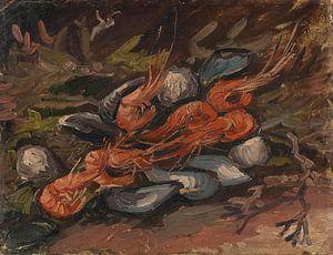 Vincent van Gogh, Garnalen en mosselen van