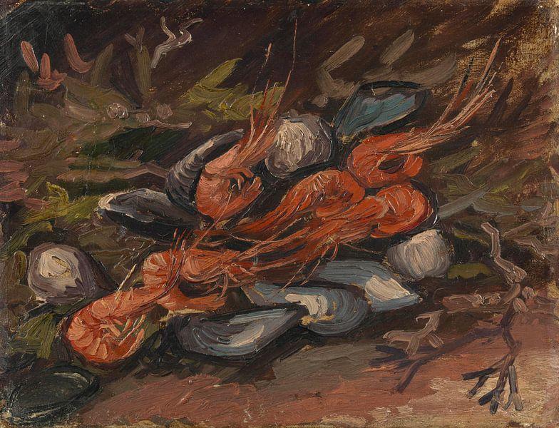 Vincent van Gogh, Garnalen en mosselen van 1000 Schilderijen