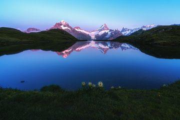 Alpenglühen van Markus Stauffer
