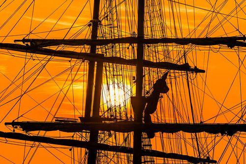 Zonsondergang Thalassa van Harrie Muis
