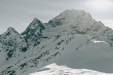 Winter in het Hooggebergte - Horizontaal van Sophia Eerden