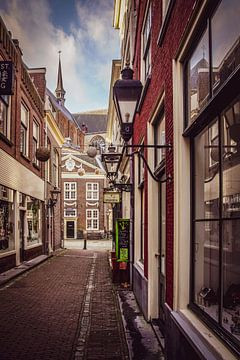 Pieterskerk-Choorsteeg Leiden van Dirk van Egmond