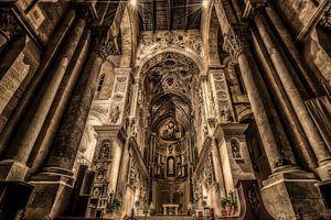 Kathedraal interieur van