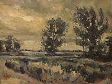 Warmer Wind am frühen Morgen entlang des Schildsees von Nop Briex