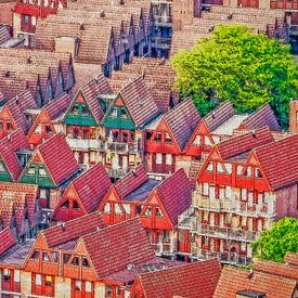 Het Kabouterdorp, Rotterdam van Frans Blok