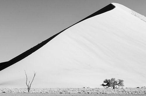 Sossusvlei zandduin van Jeroen Kleverwal