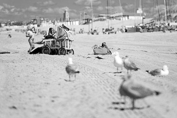 Strandtafereel Katwijk aan Zee / 2013