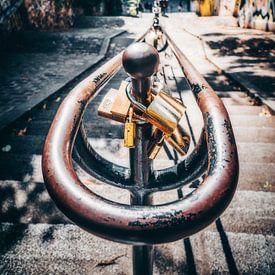 Montmartre Love Locks van Joris Pannemans - Loris Photography