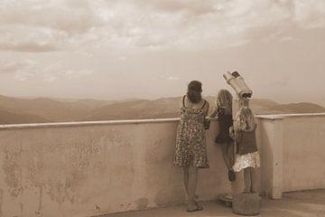Moeder en dochters van Jarretera Photos