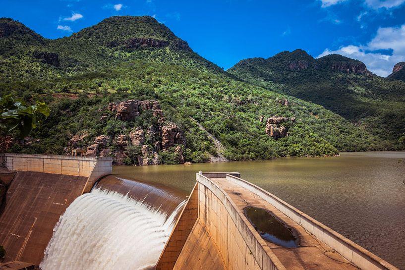 the swadini dam near the blyde river van Compuinfoto .