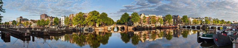 Amsterdam aan de Amstel panorama sur Dennis van de Water