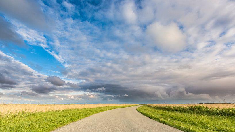 Landweg Lauwersmeer van Jurjen Veerman