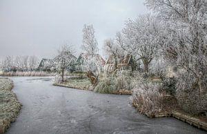 Winterlandschap, Ransdorp van