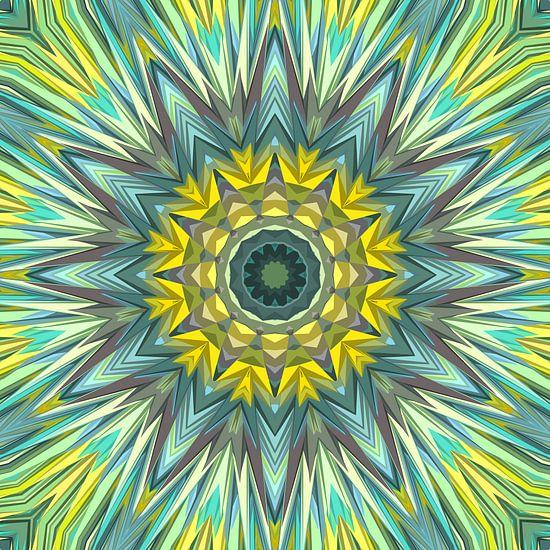 Mandala Art 3 von Marion Tenbergen