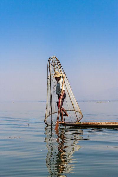 Birmaanse Visser I van Thijs van den Broek