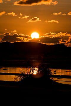 Dünen im Sonnenuntergang van Alexander Wolff