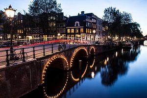Amsterdam in de nacht van