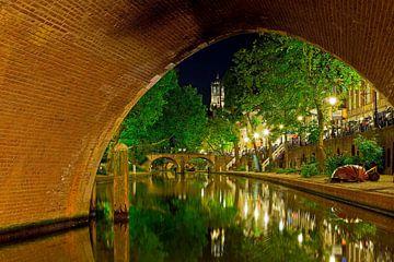 Oudegracht Utrecht van Anton de Zeeuw